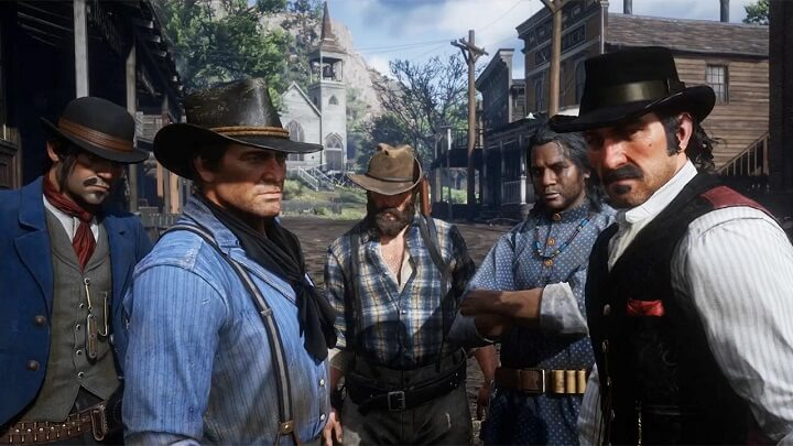 red-dead-redemption-2 با رفقا