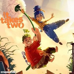 تصویر روی جلد بازی It Takes Two