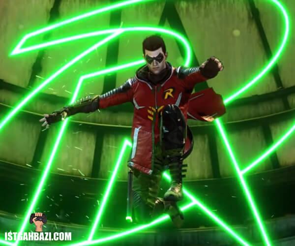 عکس شخصیت رابین در بازی بتمن گاتهام نایت