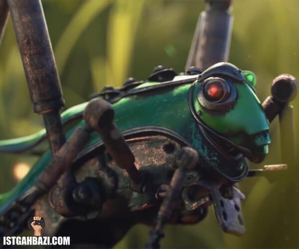 عکس ملخ جهشیافته در بازی Biomutant