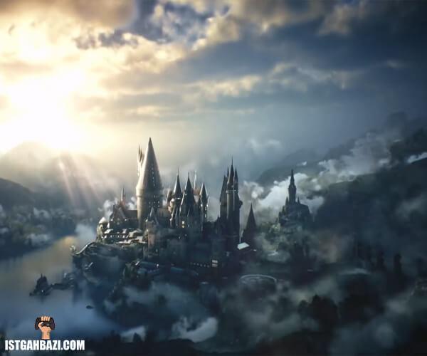 نمایی از مدرسه جادوگری هاگوارتز در بازی Hogwarts Legacy