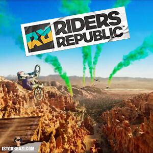 تصویر روی جلد بازی Riders Republic