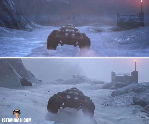 تفاوت کیفیت تصویر بازی مس افکت لجندری ادیشن با نسخه های اصلی