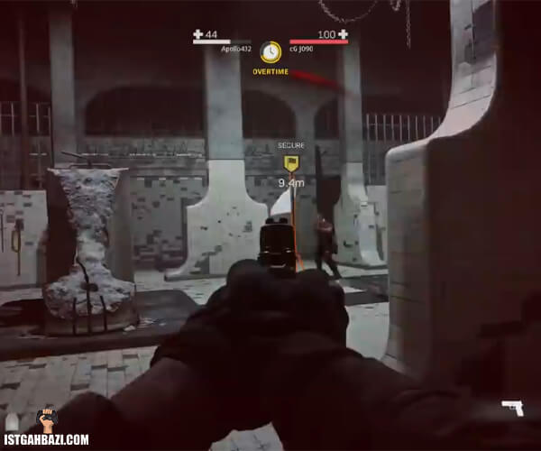 تیر اندازی با کلت در warzone