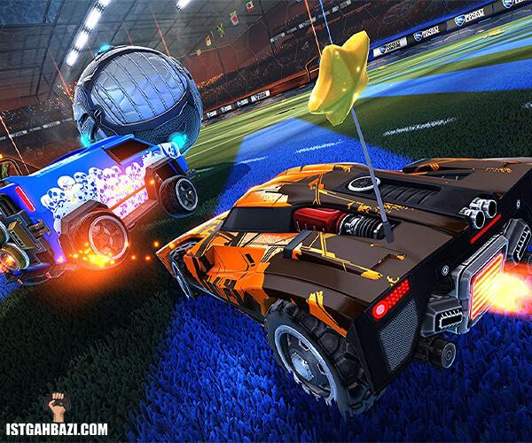 مسابقه در بازی rocket-league